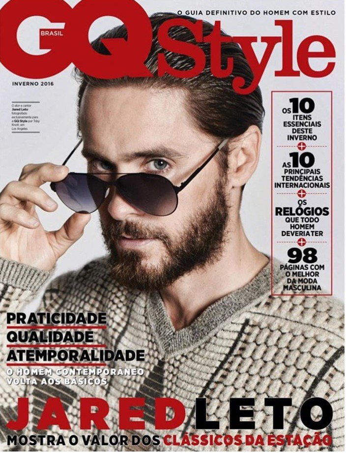 RT @carreraworld: @JaredLeto for @GQBrasil  A True #maverick all year round ???????? https://t.co/C7nIkZxSqU
