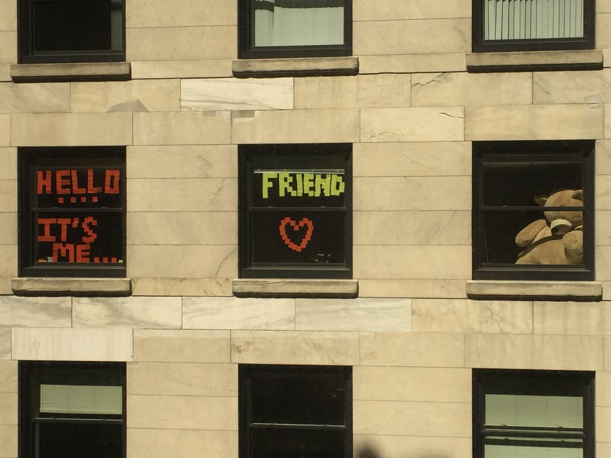 A little fun with our neighbors across from One Federal St.....anyone know who's office this is? #TuesdayMotivation https://t.co/hs7Rz2F9eb