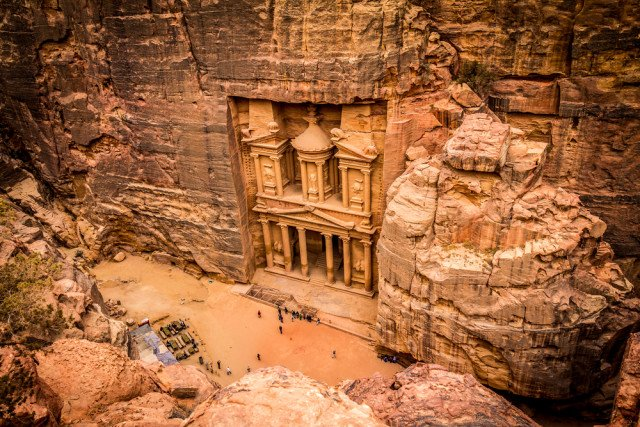 Petra, Jordan - manmade sandstone symphony of the ancient world ttot @JordanNorthAM