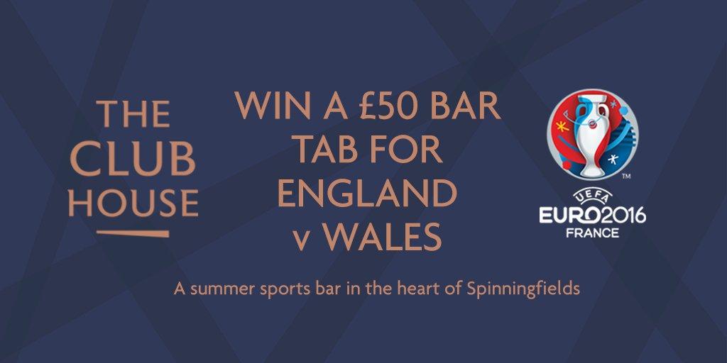 WIN a £50 bar tab in @TheClubHouseMCR! RT+follow @Spinningfields + @TheClubHouseMCR to enter https://t.co/fZdnLT3Qa3 https://t.co/RF2wmIGIk1