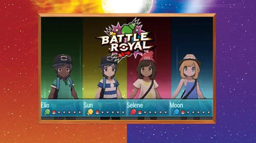O novo estilo de batalha: Battle Royal, envolve o embate de quatro jogadores ao mesmo tempo! https://t.co/HI9EcM2NH5