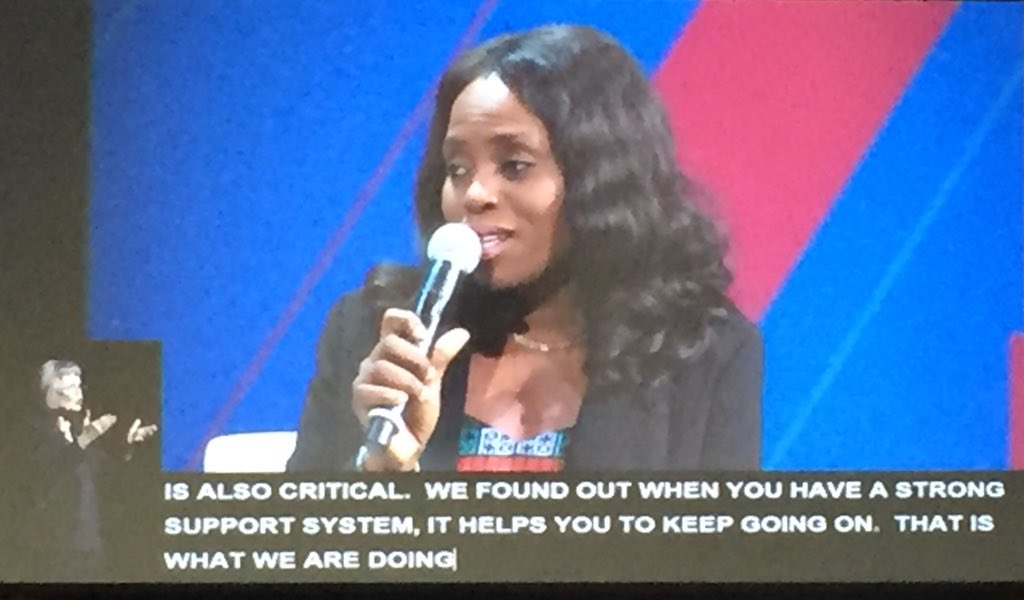 .@MegbopeAyo: Amajor challenge for women in Nigeria is the inability to own property #StateOfWomen cc @Tinu https://t.co/ESf18NYNia