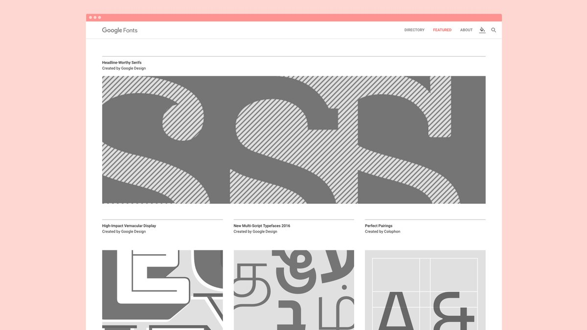 Get to know your type with specimen pages, featured collections, and analytics. https://t.co/afFMTLBs3d #GoogleFonts https://t.co/AShdqtqHEJ
