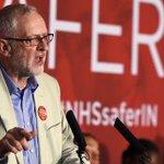 «Brexit»: le travailliste Jeremy Corbyn appelle à voter pour le maintien dans l'UE