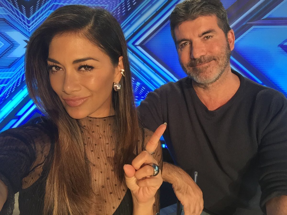 The culprit! Lesson learned...never leave you're phone unattended next to @SimonCowell https://t.co/9CNXEJ5tig
