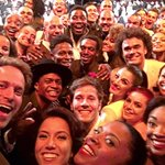 Our modest attempt to try to break the internet w a selfie @HamiltonMusical @TheTonyAwards https://t.co/lnVY9SMTrM