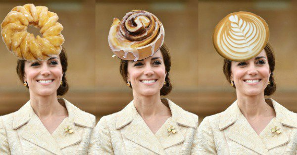 Kate Middleton's hat is officially making us hungry: