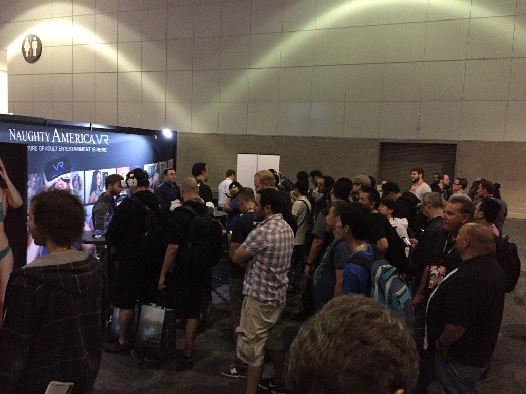 here's the E3 VR porn booth https://t.co/rVnpNXqAE6