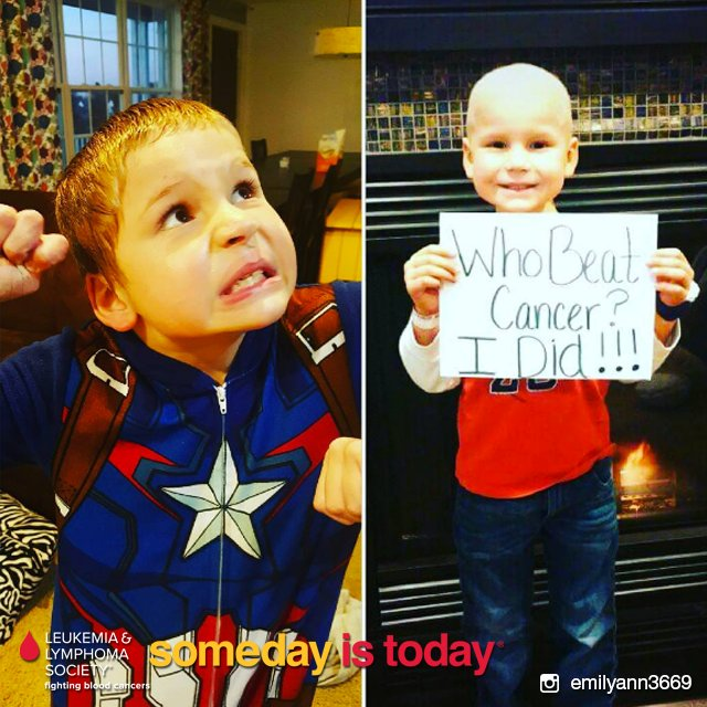 Chase has been cancer free for 2 years now & it's because of the advancements in cancer research! #SomedayIsToday https://t.co/wnCDGjYt11