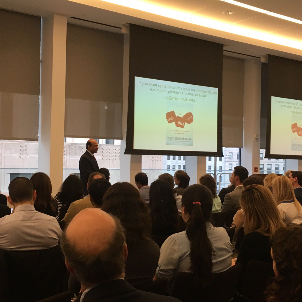 Strategy is about creating the future while managing the present @TuckSchool event in #boston @BankofAmerica https://t.co/gjUwL7lpIT