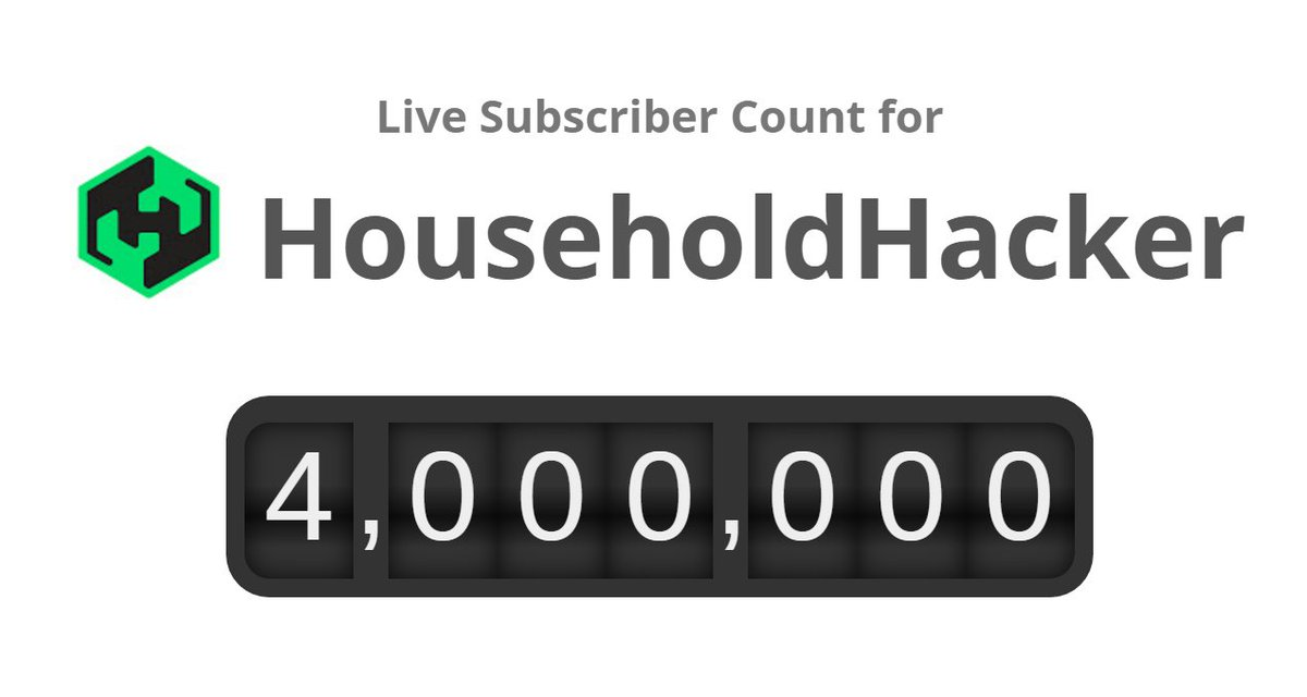 Posting to @YouTube 9 years ago, I never imagined 4 million subscribers. Surreal. Thank you all for your support! https://t.co/PpBvbGY4to