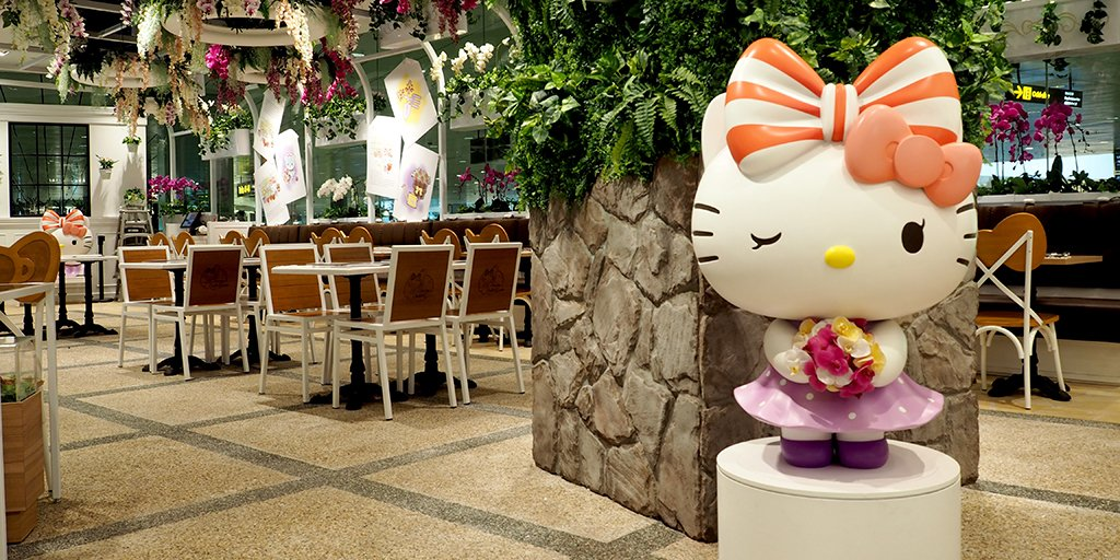 Singapore's first Hello Kitty cafe is now open: