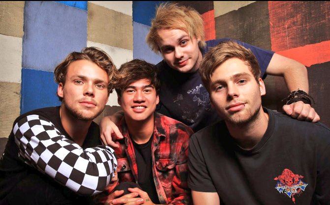 Going live w @5SOS Thurs morning on Facebook. Any thing you'd like to ask? Keep it nice.