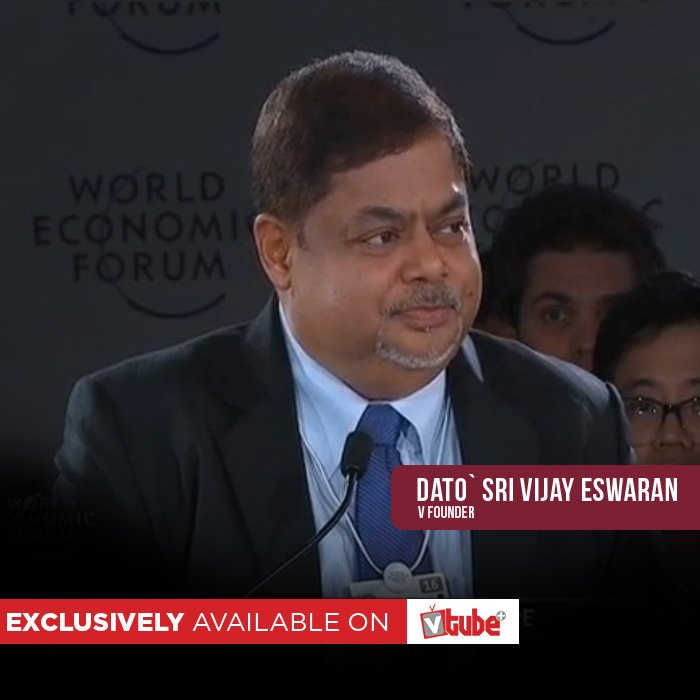 MUST-WATCH: V Founder Dato' Sri @VjayEswaran at the @wef 2016 >>https://t.co/T931Rl1xUk https://t.co/acBssEXngT