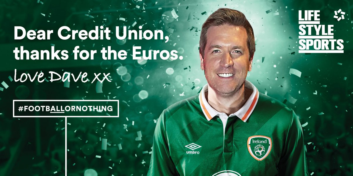 Hey @DaveTodayFM we saw you liked our ad yesterday, so we made you one of your own. #FootbALLorNothing https://t.co/UTAiAX9qbG