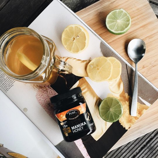 Inspiration from blogger Gabriele GZ today here at H&B. Hot honey & lemon immune booster to blast the summer colds! https://t.co/TIoa943wMG
