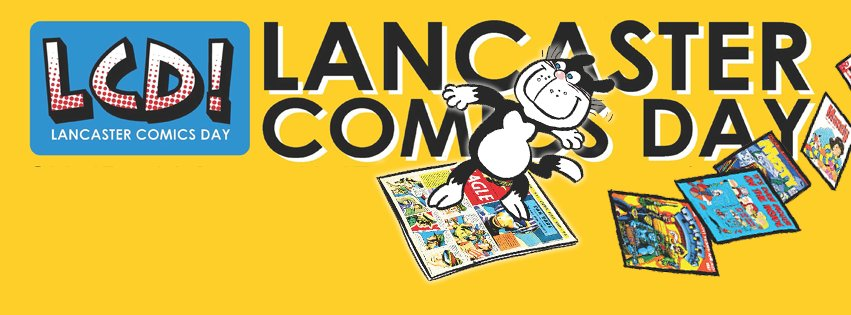This Sun is @LancasterComics Day at the Library! I will have books and be doing a #SciFi panel! #Lancaster #Comics https://t.co/HkI75Q0qWC