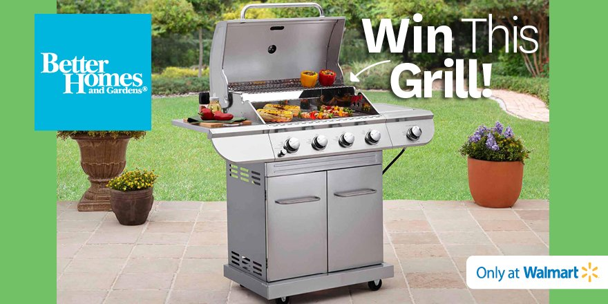 Don't miss out! Enter to #win this #FREE grill! https://t.co/hlr1Q8aHcG Follow us & RT to #win #BHGGrillSweeps https://t.co/QDkXd4611x