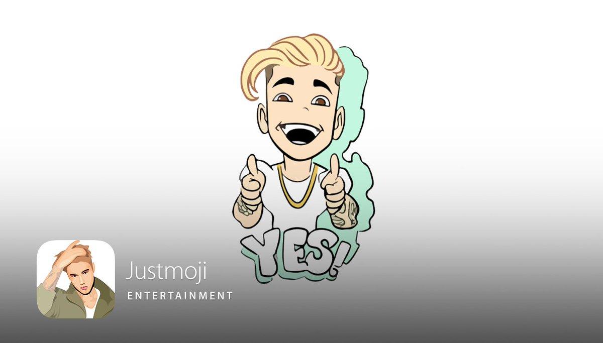 Never say never, folks—@justinbieber emojis have landed!