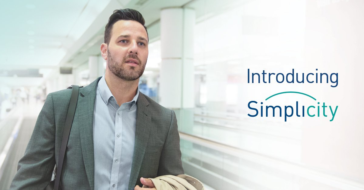 Introducing Simplicity. Our 30-minute on-time promise proves your time really is money.