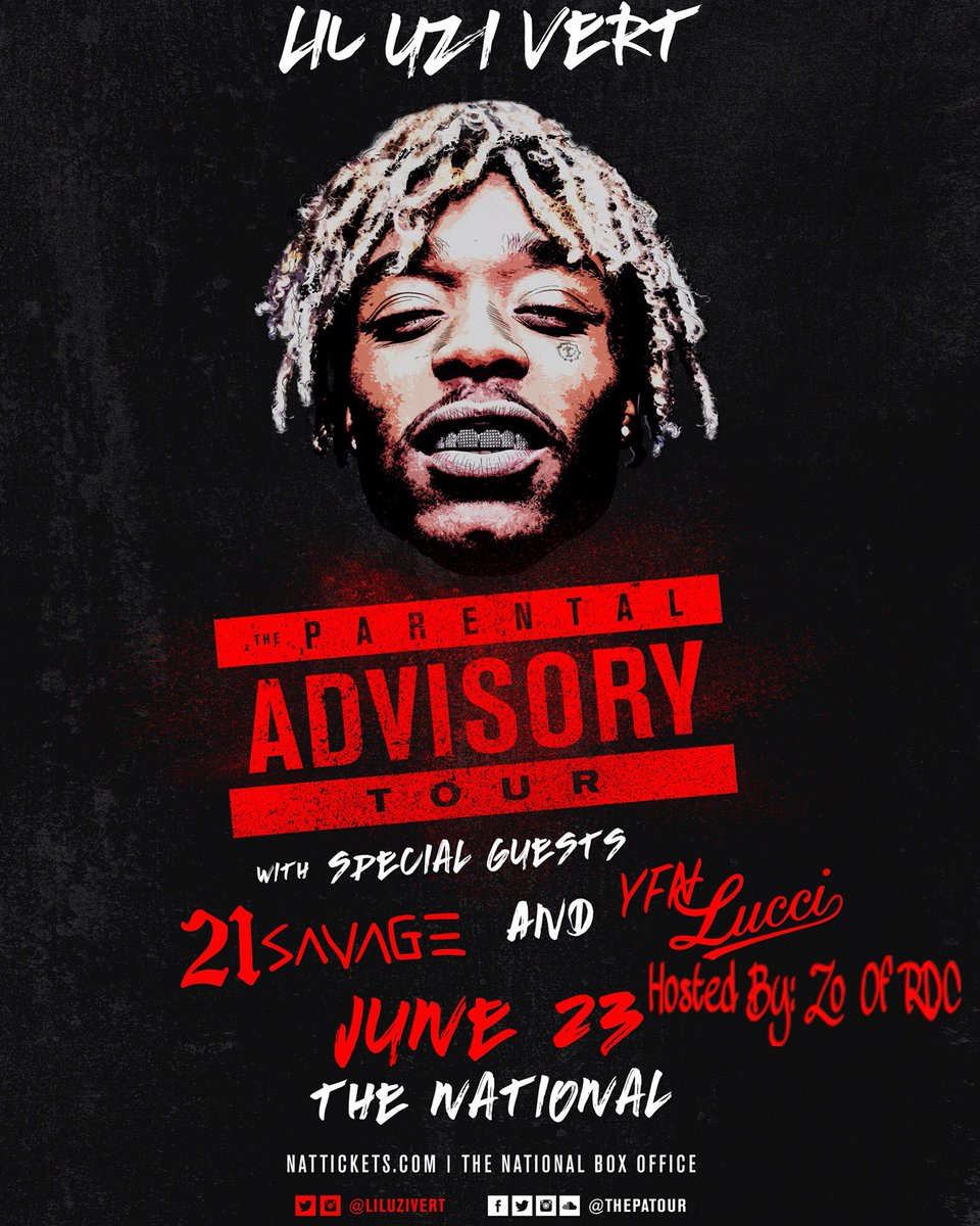 JUNE 23rd RICHMOND,VA   LIL UZI, 21 SAVAGE & YFN LUCCI HOSTED BY : @Innocent27_RDC   #RDC https://t.co/H6x3pxm4UT