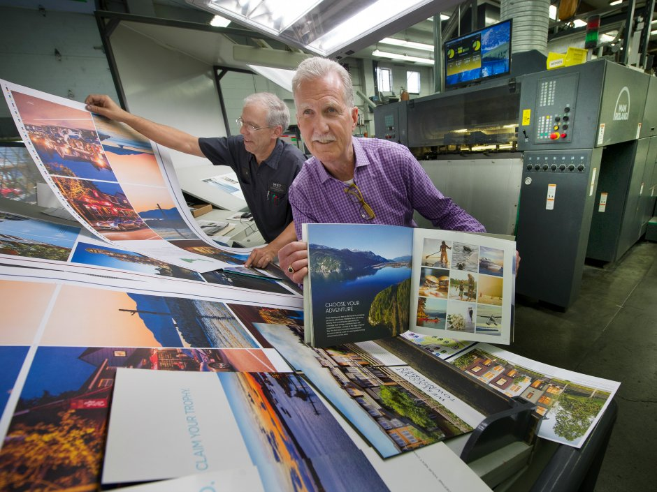 Real estate boom a licence to print money for those in the printing industry
