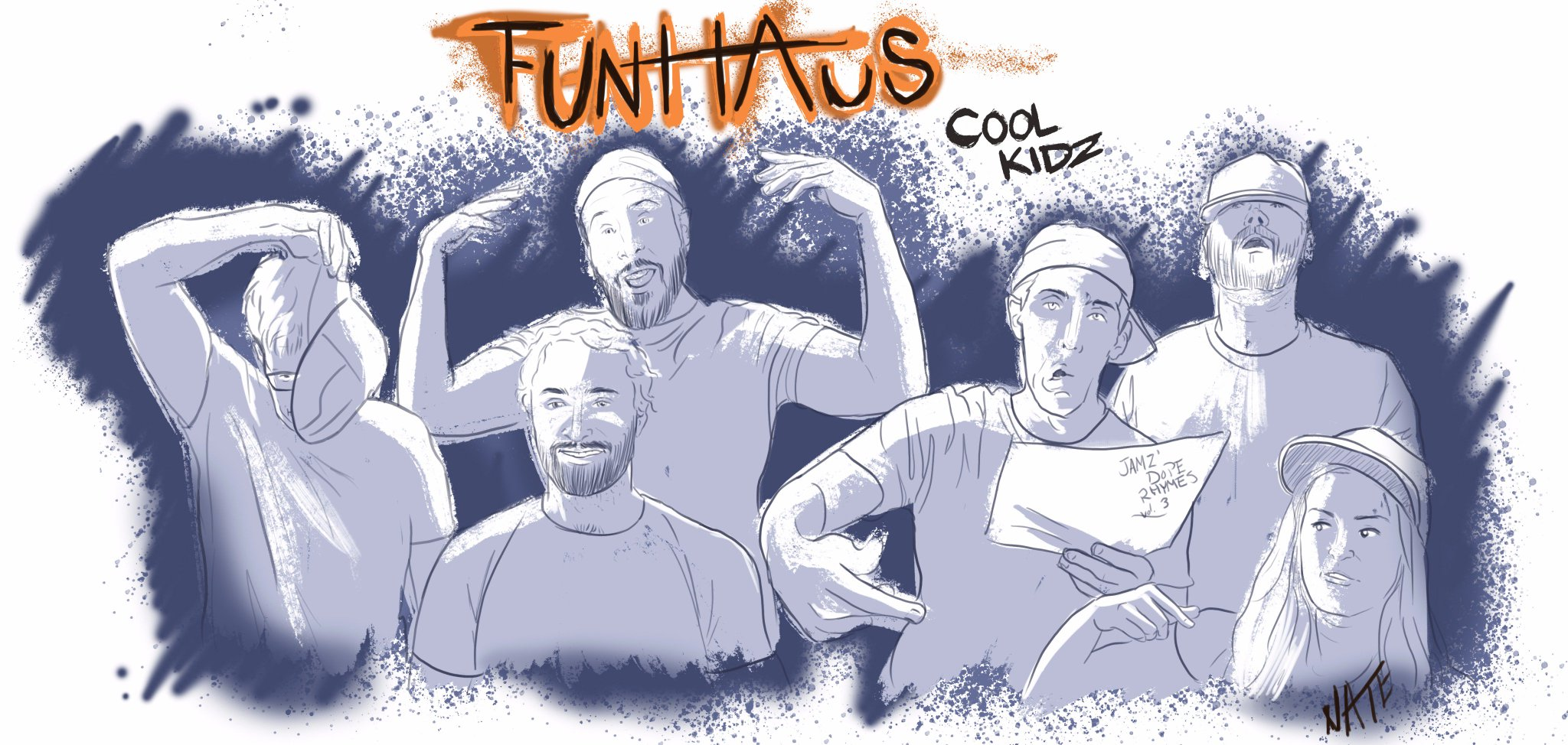 The crew in @FunhausTeam are some of the coolest and hip entertainers I watch https://t.co/fyrSRJkn0I