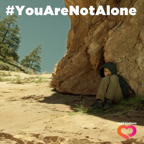 I'm supporting the #YouAreNotAlone Campaign for Child Refugees. Watch the video here https://t.co/4c0j4WtNA5 https://t.co/AM2W9hL2z8