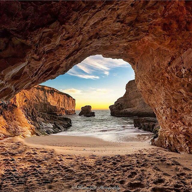 Shark Fin Cove. Davenport, California | Photography by ©Himui888 https://t.co/yrjSvPAYXi