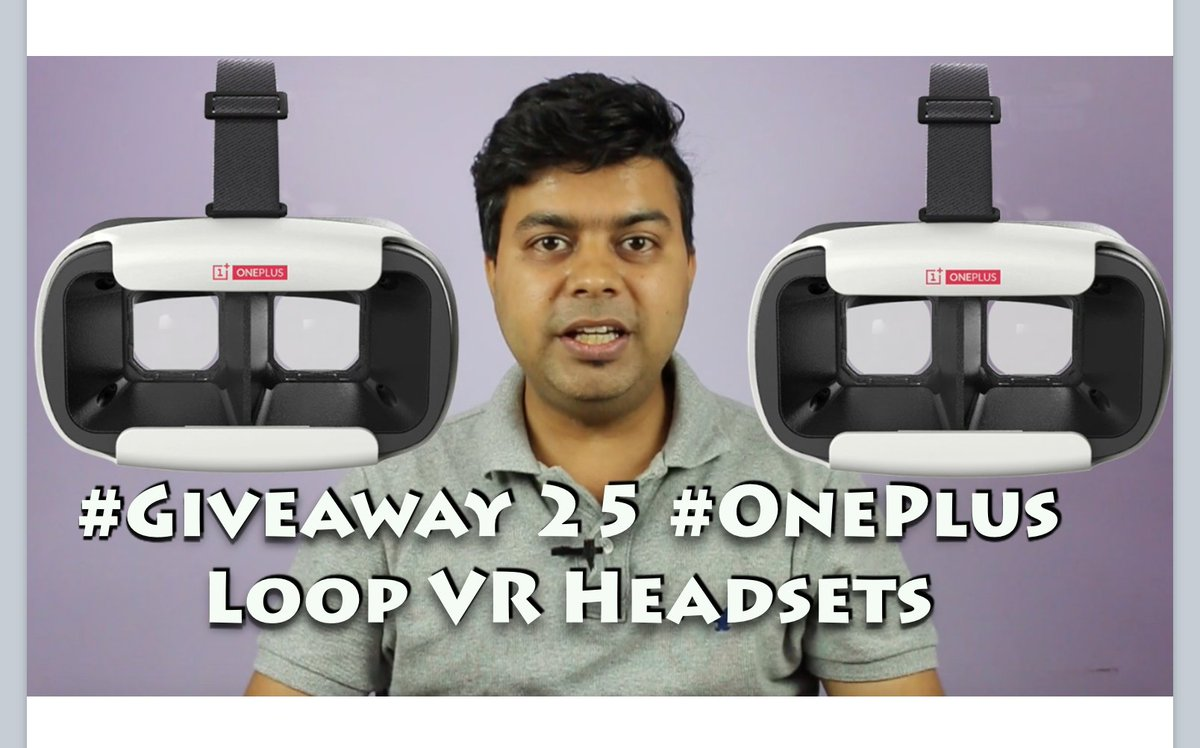 Get @oneplus Loop VR Headsets for free - https://t.co/P5dJeXIXOi by @gadgetstouse https://t.co/7DiGK2xbrX
