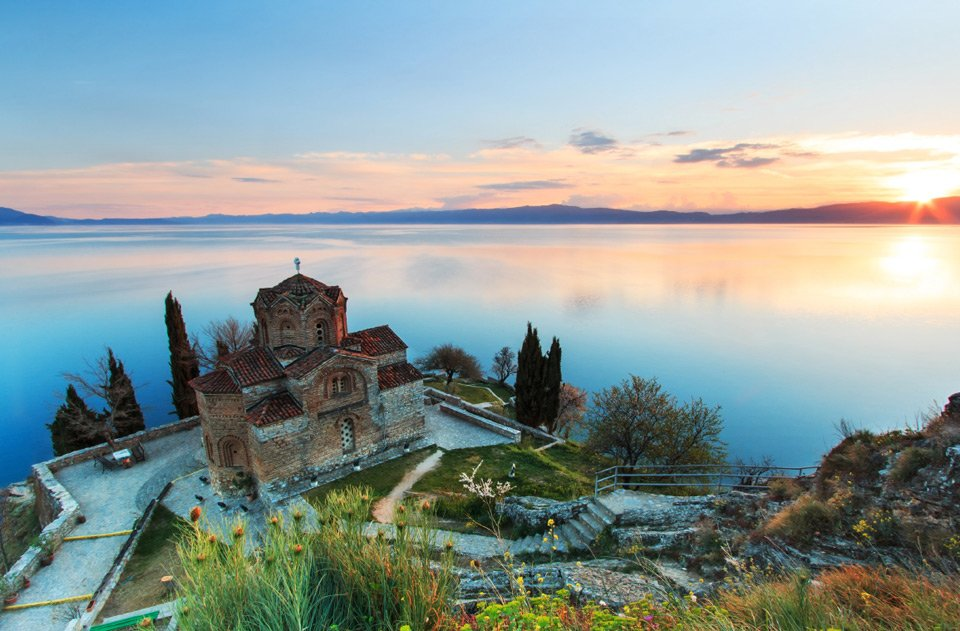 Sunset Over Ohrid Lake, Macedonia | Photography by ©Fabio Nodari https://t.co/gJvPvMIgXm