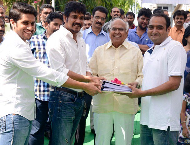 Three years ago yesterday! The beginning of a classic Manam… Anr lives on
