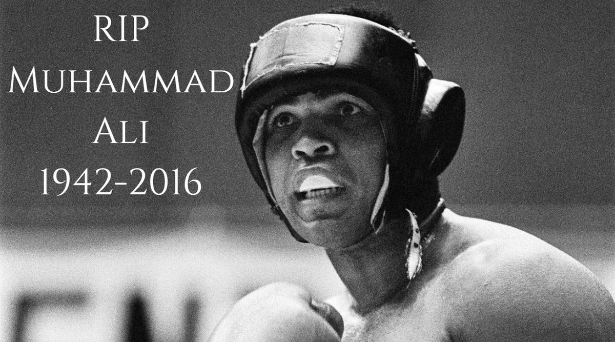 Boxing legend Muhammad Ali has died aged 74 https://t.co/4RlX8Eb4Uc https://t.co/VtkNMphjRg