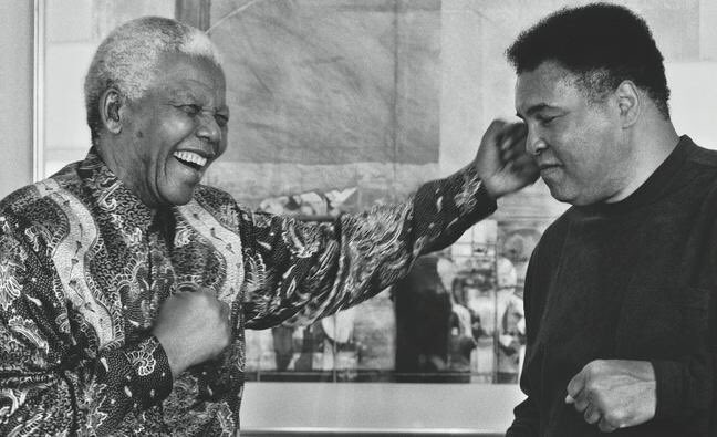 RIP Muhammad Ali. A true titan. Always liked seeing pics of him + Madiba together. 2 of the world's greatest. https://t.co/WstzRENid2