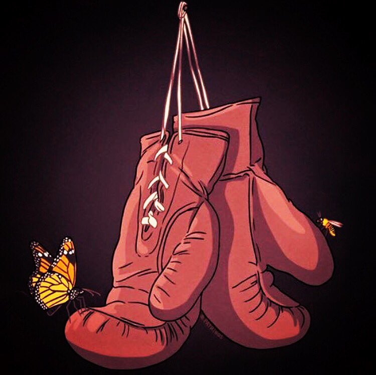 """Float like a butterfly, sting like a bee. The hands can't hit what the eyes can't see."" #RIPAli #MuhammadAli https://t.co/Zwa4Ekn4NV"
