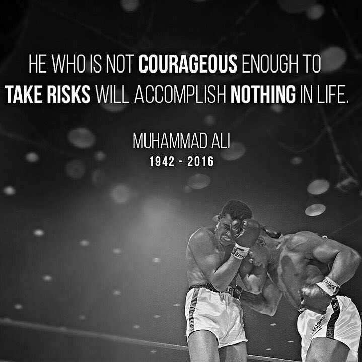Rest In Peace Muhammad Ali. Inspiration in and out of the ring. Loved his character/personality #peopleschamp #goat https://t.co/aYWacyxwKN