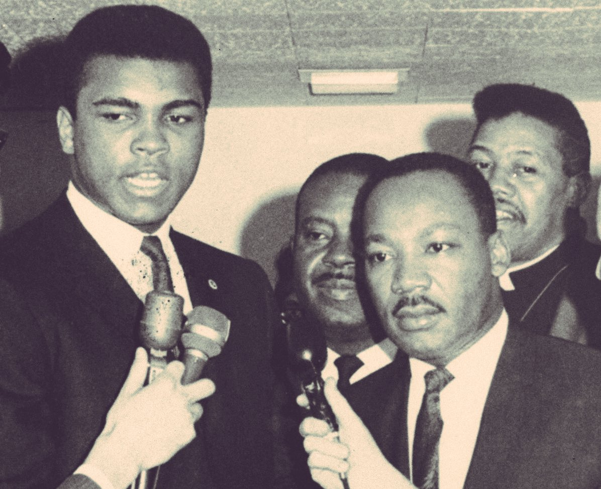 Thank you, #MuhammadAli. You were a champion in so many ways. You 'fought' well. Rest well. https://t.co/TSrzdQg1y4