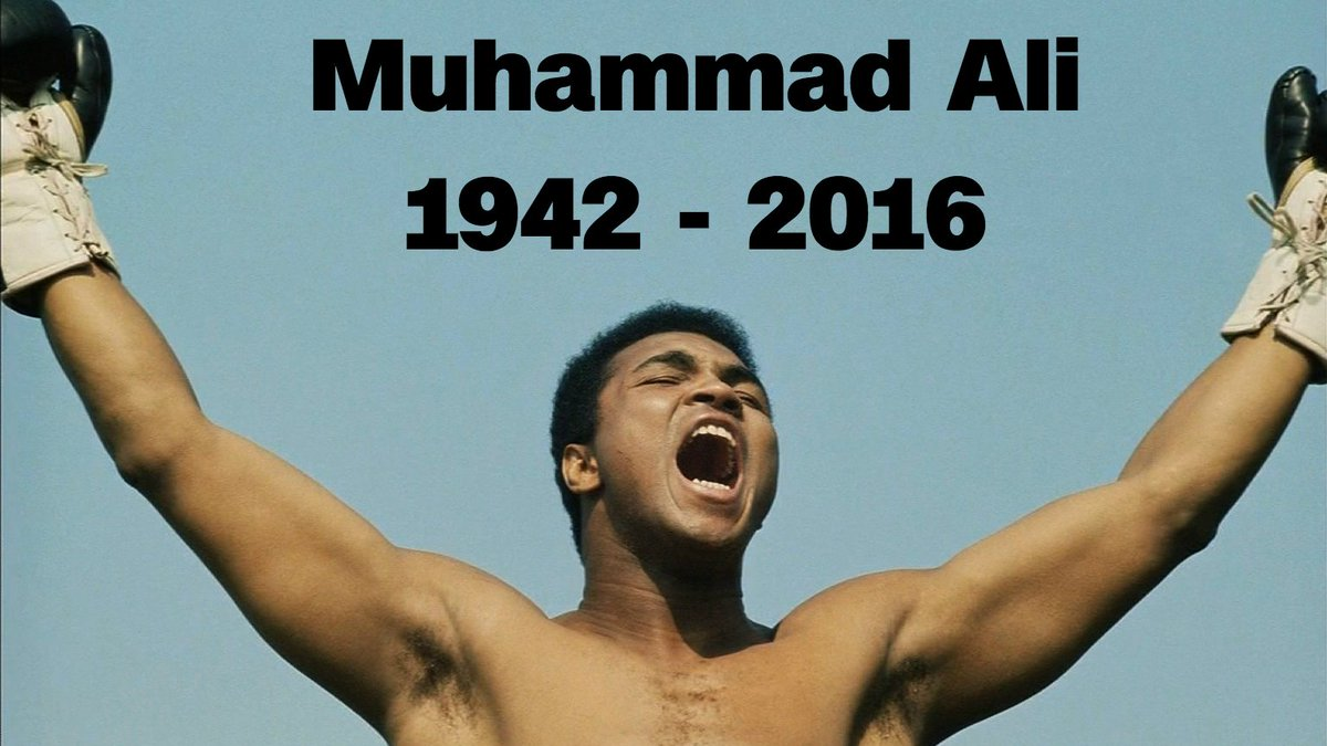 Murió Muhammad Ali, conoce la historia de la leyenda del boxeo @MuhammadAli https://t.co/Ebi4joUo03 https://t.co/zbmaPttKxs