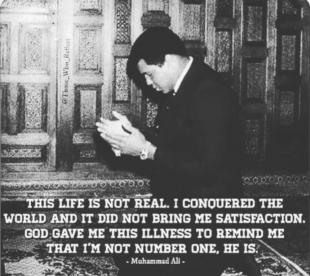 Innalillahi wa'inna ilaihi raaji'un. May he inspire more ppl regardless of Muslim or non-Muslim around the world. https://t.co/VnxrHiMA4f