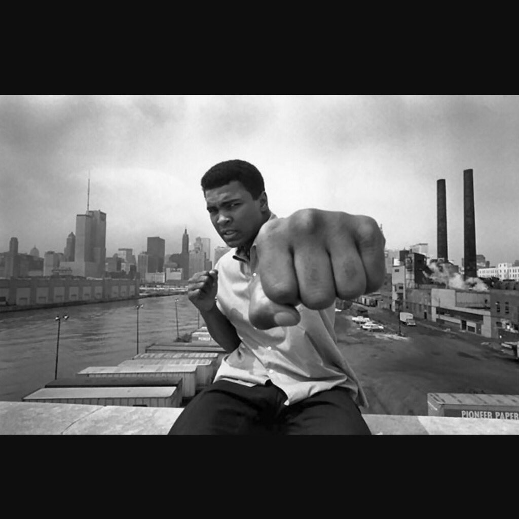 """God gave me this illness to remind me that I'm not No.1, He is.""-Muhammad Ali  Inna lilaahi wainna ilaaihi rajioon https://t.co/fYukp5Jlj5"