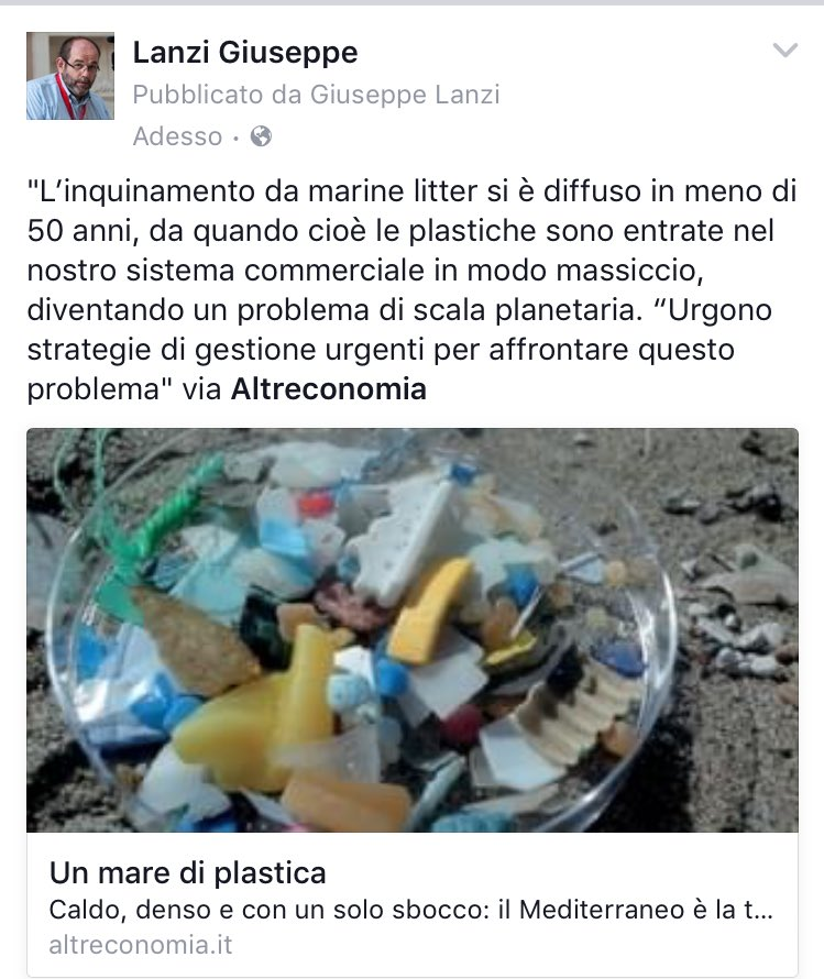 Nel #Mediterraneo ci sono mille tonnellate di microplastiche galleggianti https://t.co/7PGNAq3Qn6 via @altreconomia https://t.co/OU4bdPNCBr