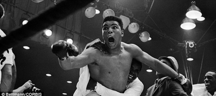 Waking to the sad news that 'The Greatest' has passed. Rest in peace Muhammad Ali you shook up the World