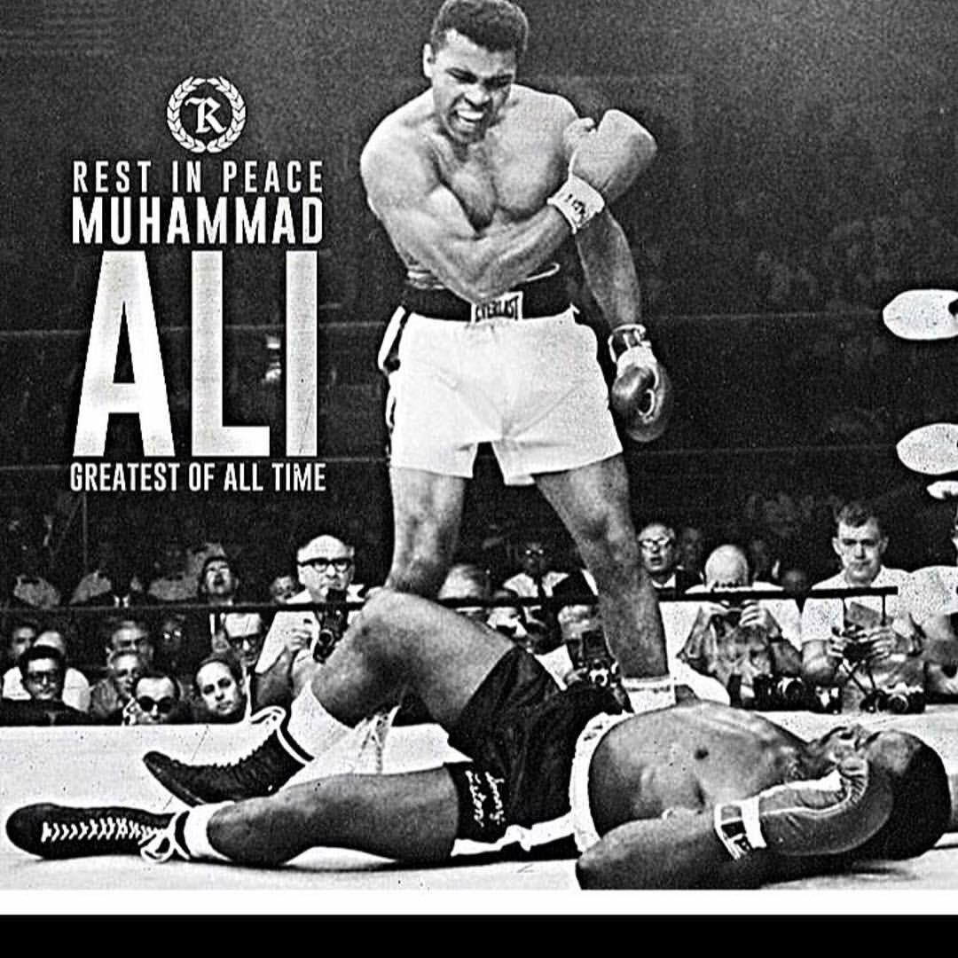 RIP. The greatest of all time. @MuhammadAli https://t.co/YkB0kq04oY