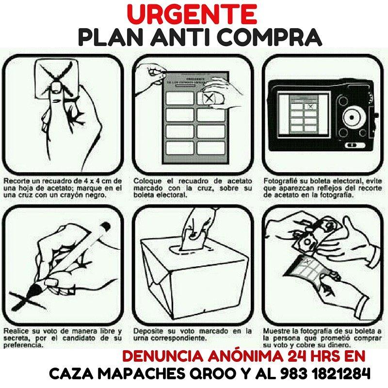 Los mapaches del #PRI usarán sombrillas blancas en casillas para pagar por foto del voto. Checa este tip #VotaLibre https://t.co/AmgqJd7HfX