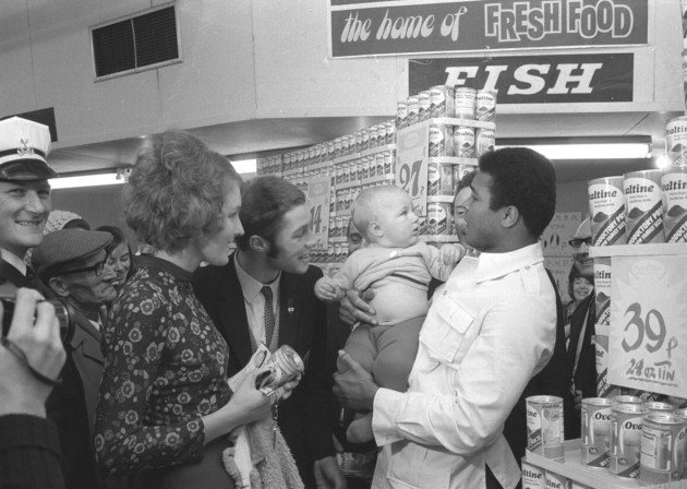 Muhammad Ali in Norwich. https://t.co/o5Sd6qd1HT https://t.co/hnxVyK2hu5
