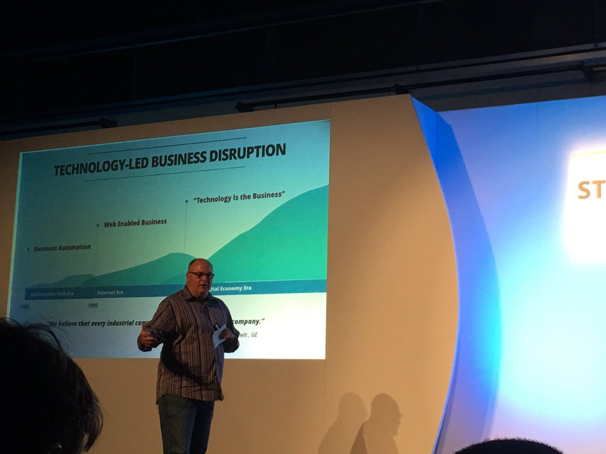 All companies will become software companies. The fourth industrial revolution. #TWEUAwayDay https://t.co/XT0mCqalJi