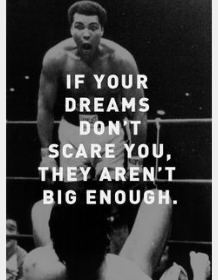 Rip champion #MuhammadAli . You taught the world impossible is temporary, impossible is Nothing! https://t.co/IIyB915V7G