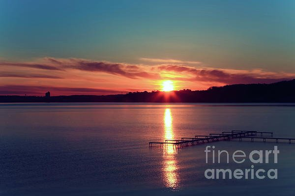 "Sunrise in Traverse City MI. - ""Edge of Red Dawn"" - https://t.co/T9FcR5qSKF @fineartamerica https://t.co/pIZxGgthod #sunrise #glow"