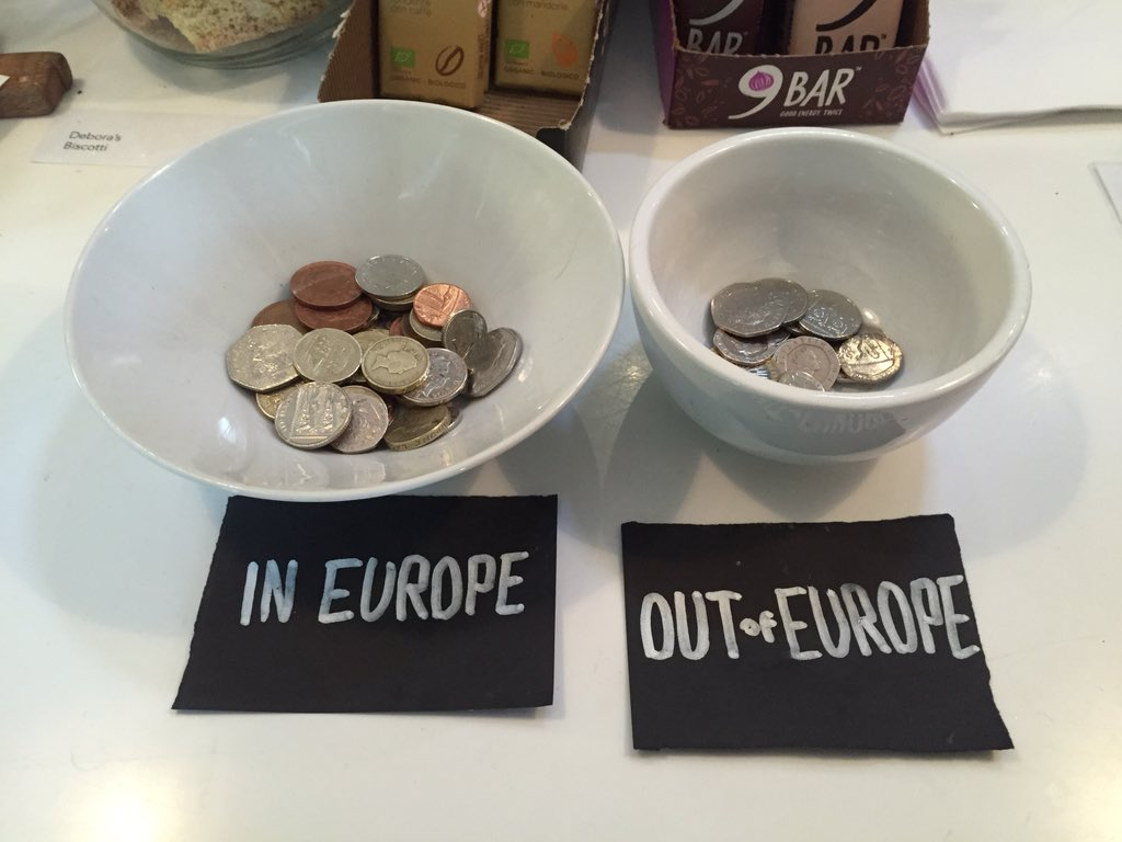 Great way of getting tips at @EspressoLibrary Glad to see Remain winning. #InCrowd https://t.co/Aq7w3vWl5q