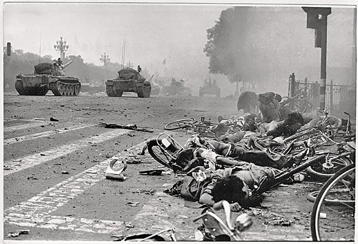 27th Anniversary of #Tiananmen Square Massacre https://t.co/Invwxw33xp